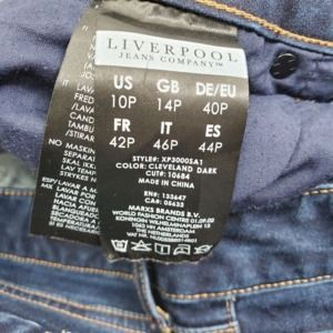 Liverpool Jeans Jeans - Liverpool Jeans Petite The Straight Cut Jeans